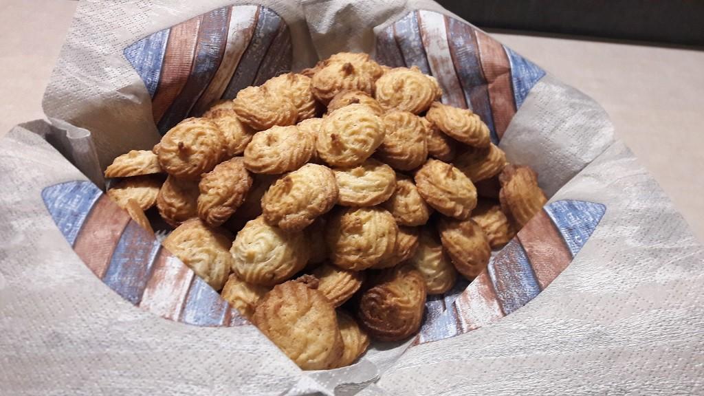 Ciasteczka migdałowe z masy marcepanowej