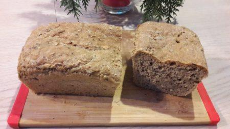 Chleb pszenno-owsiany