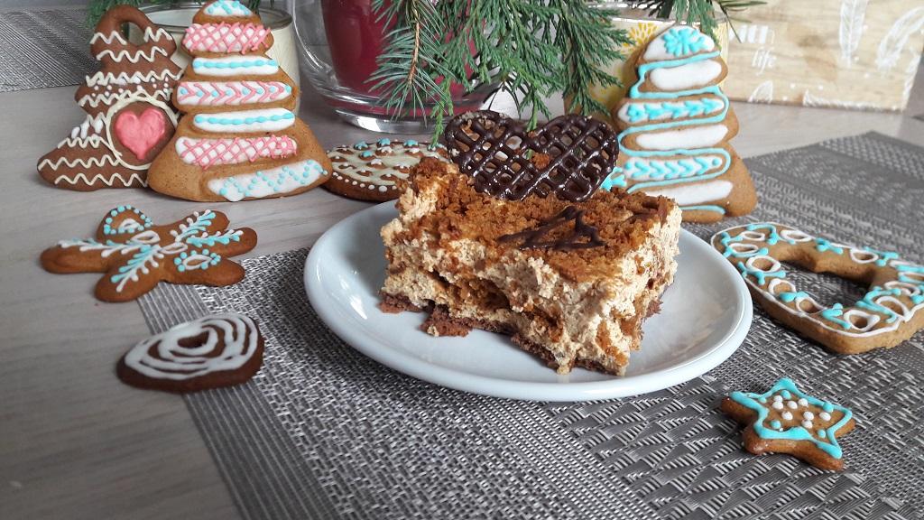 Ciasto z pierniczków i mascarpone