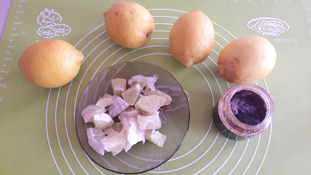 Cytryna w miodzie na przeziębienie