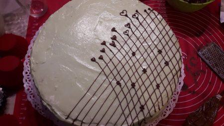 Tort miętowo-czekoladowy