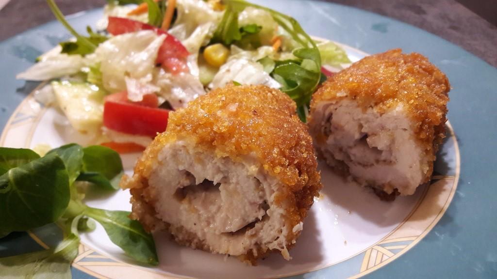 Kotlety de volaille z masłem lub z serem