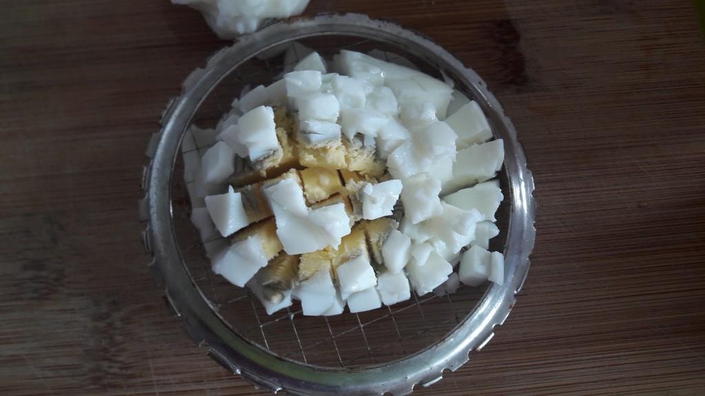Roladki z szynki z pastą jajeczną