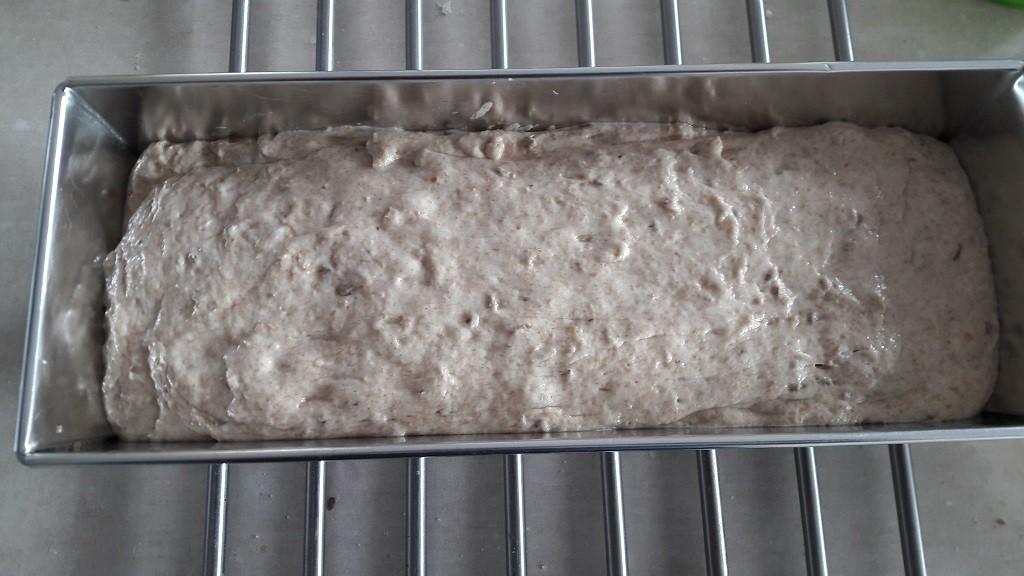 Chleb pszenny ziołowy pełnoziarnisty