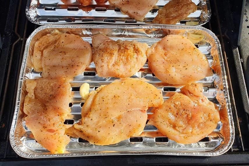 Grillowane piersi z kurczaka