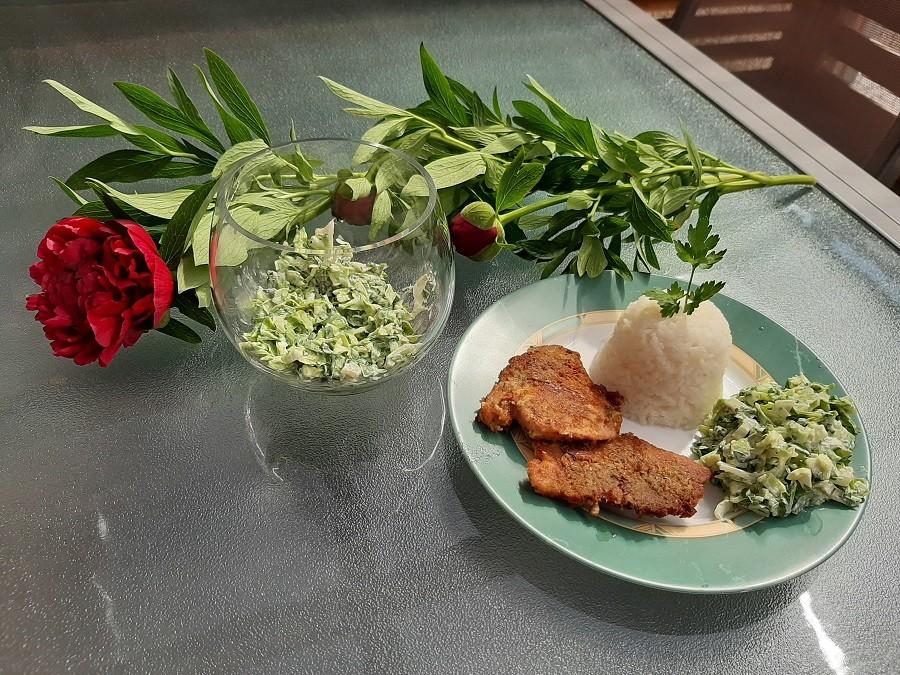Zielona surówka – moc witamin