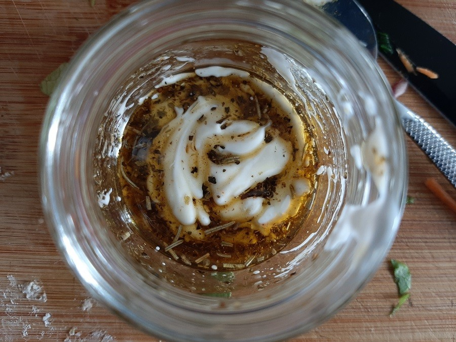 Lekki sos z dodatkiem śmietany