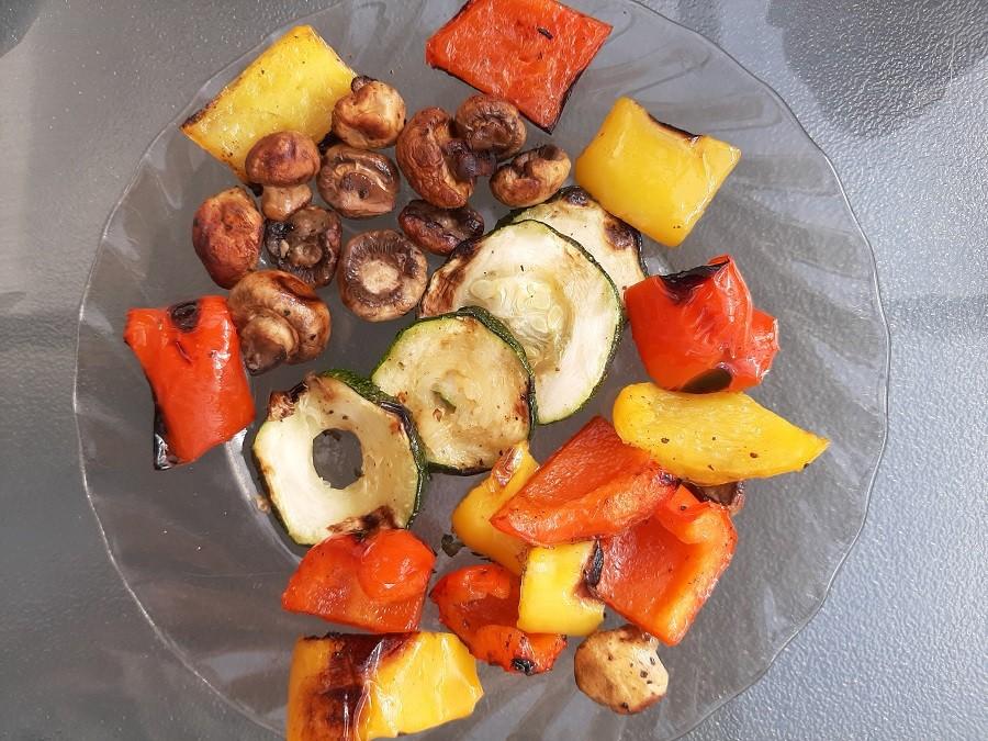 Grillowane warzywa