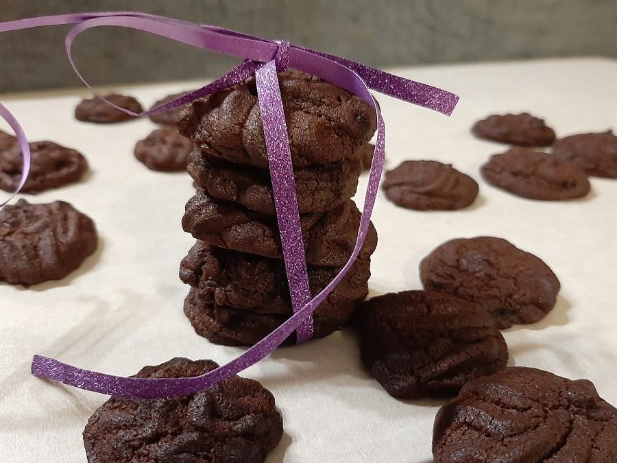 Miękkie ciasteczka czekoladowe