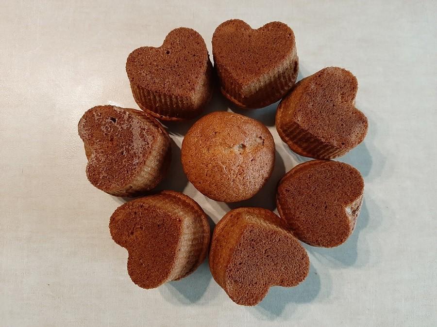 Puszyste muffinki bananowe