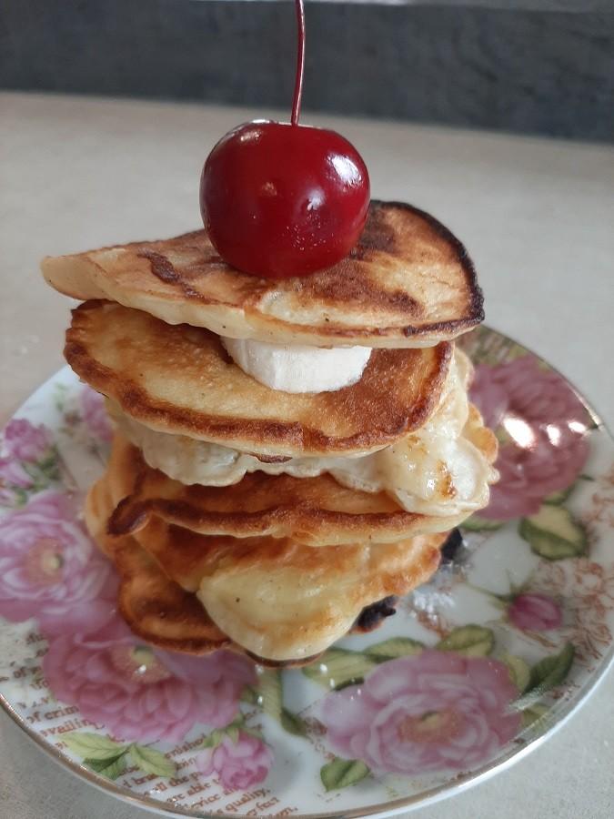 Szybkie placki z jabłkami