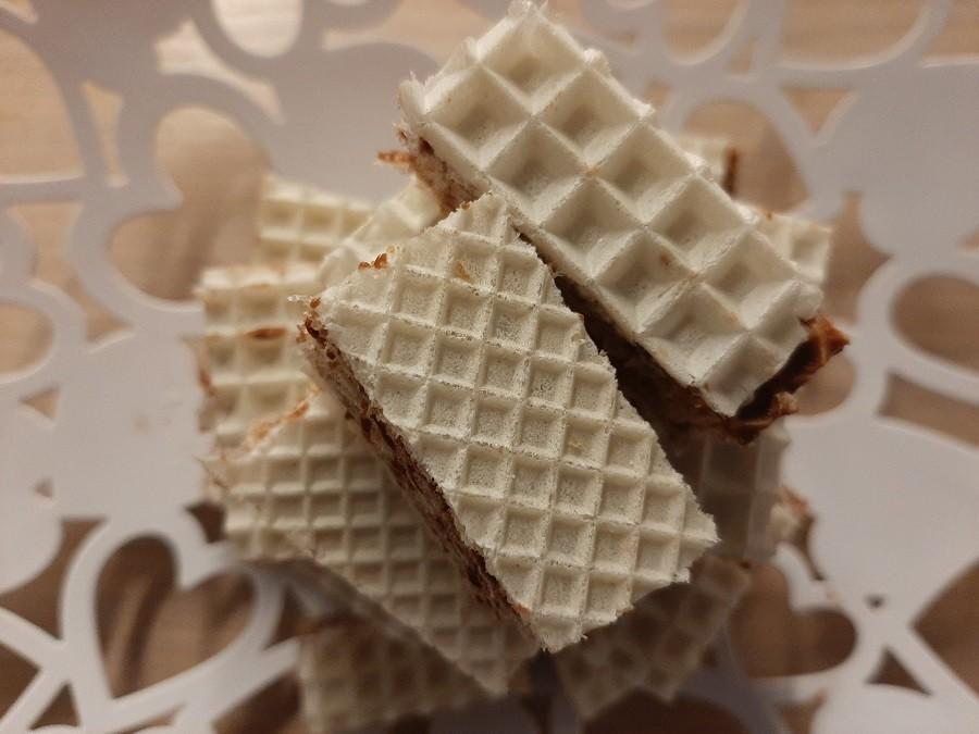 Wafle czekoladowe (andruty)