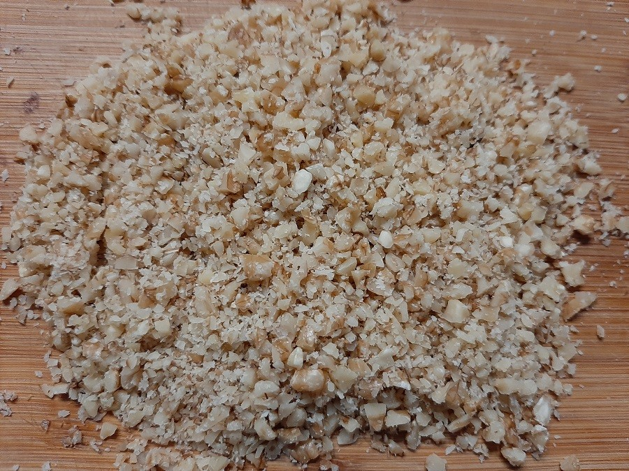 Domowe wafelki knoppers z karmelem i ryżem preparowanym