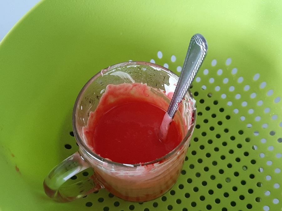 Czerwona polewa (drip) do tortów i ciast