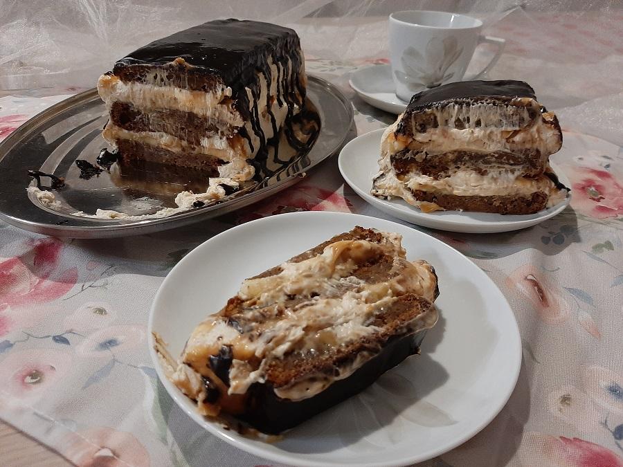 Krem z mascarpone i masłem orzechowym do tortów, deserów i babeczek