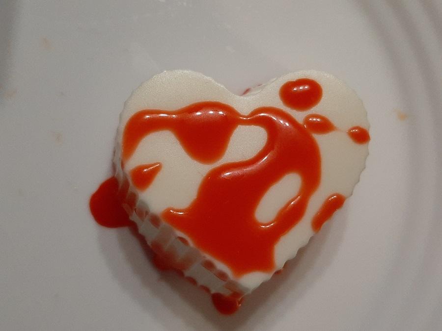 Walentynkowe serniczki na zimno