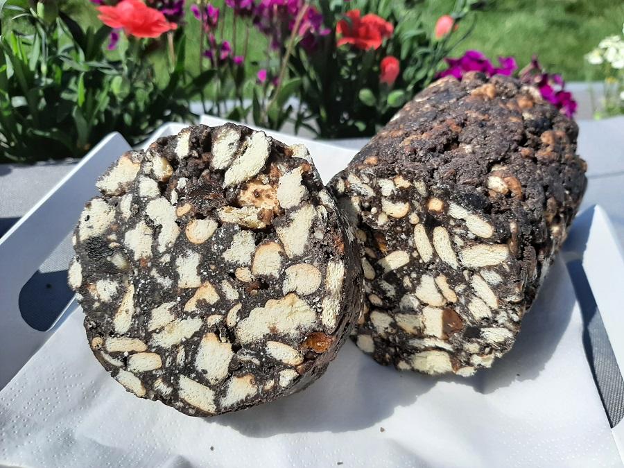 Tinginys – litewski blok czekoladowy z bakaliami