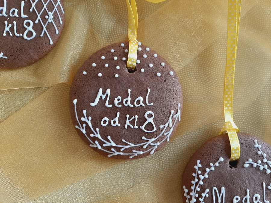 Pyszne piernikowe medale