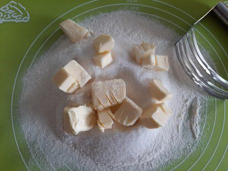 Szybka kruszonka do ciasta